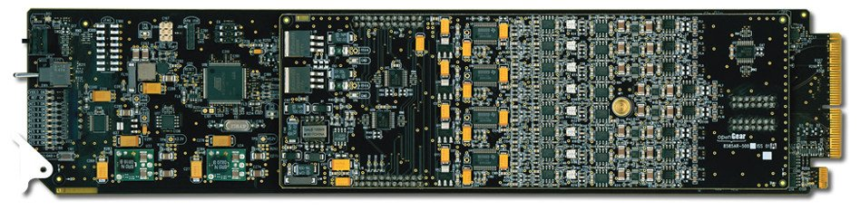 4 Channel 3G/HD/SD-SDI Analog Audio De-Embedder