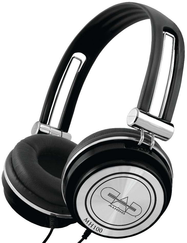 Closed Studio Headphones in Black