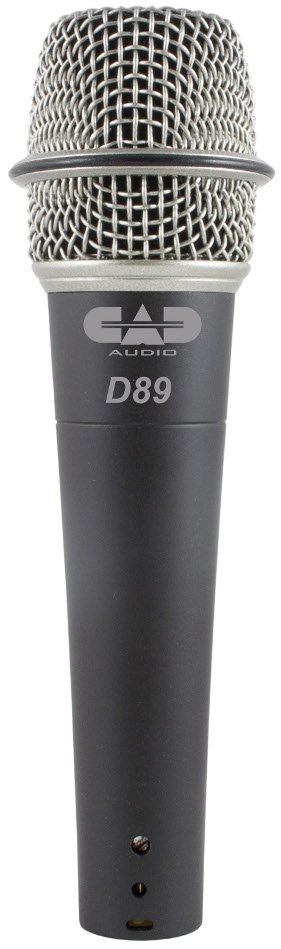 Supercardioid Dynamic Instrument Microphone