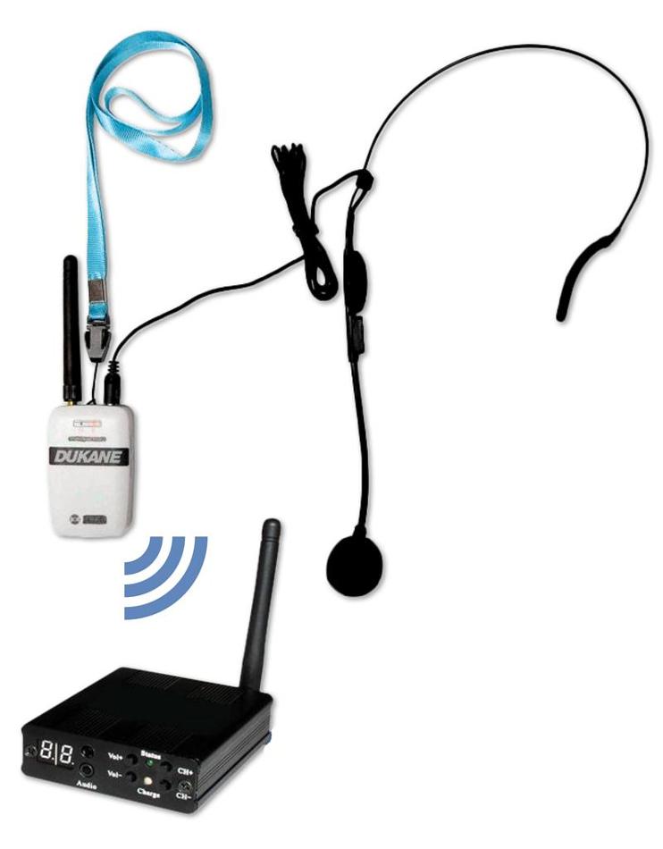 iHear RF Wireless Vocal Presentation System