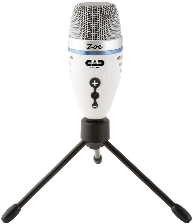 USB Recording Microphone with TrakMix Headphone Monitoring
