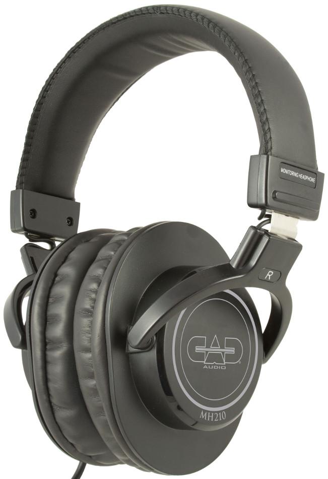 CAD Audio MH210  Closed Back Studio Headphones in Black MH210