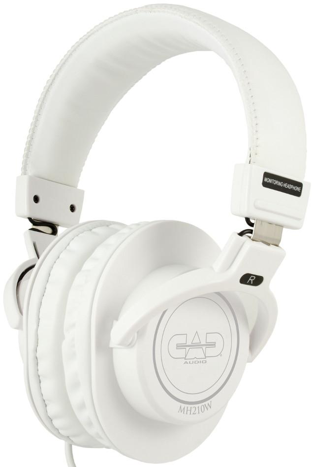 Closed Back Studio Headphones in White
