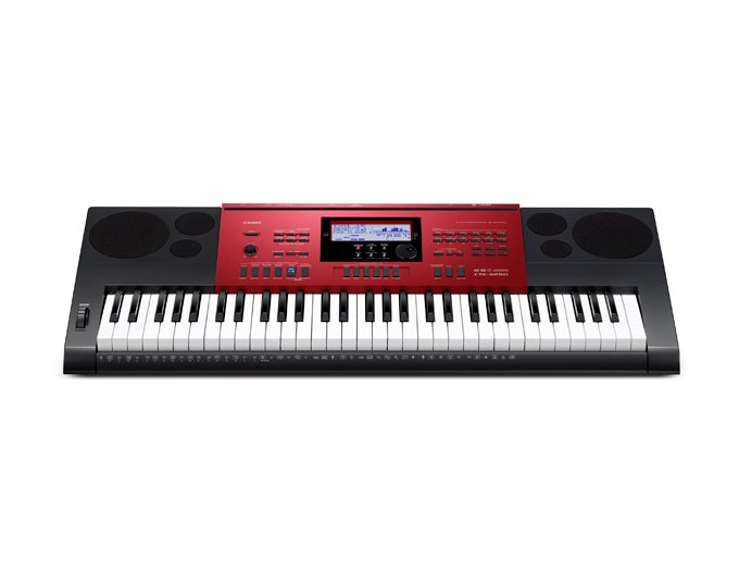 61-Key Synthesizer / Keyboard in Red