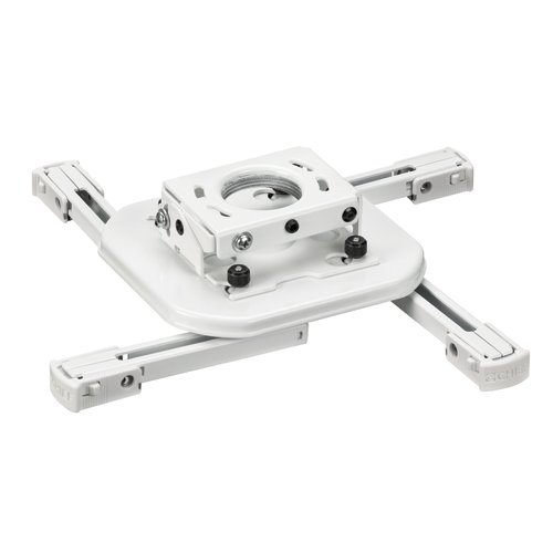 Mini Universal RPA Projector Mount in White