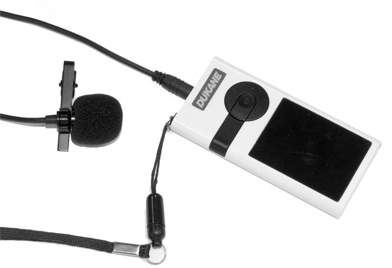 iHear 2.4GHz Wireless System with Pole Mount Speaker/Receiver, Bodypack Transmitter and Lapel Microphone