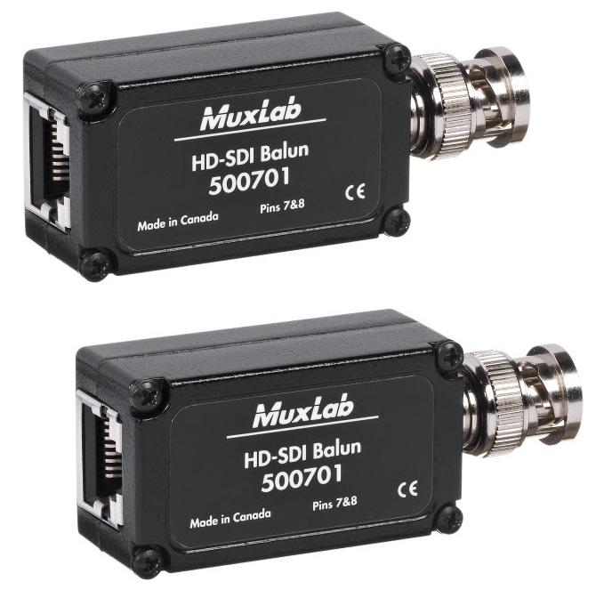 HD-SDI Balun 2-Pack