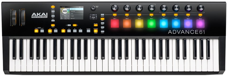 61 Note Keyboard Controller