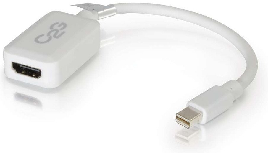 "8"" Mini DisplayPort Male to HDMI Female Adapter Converter Cable"