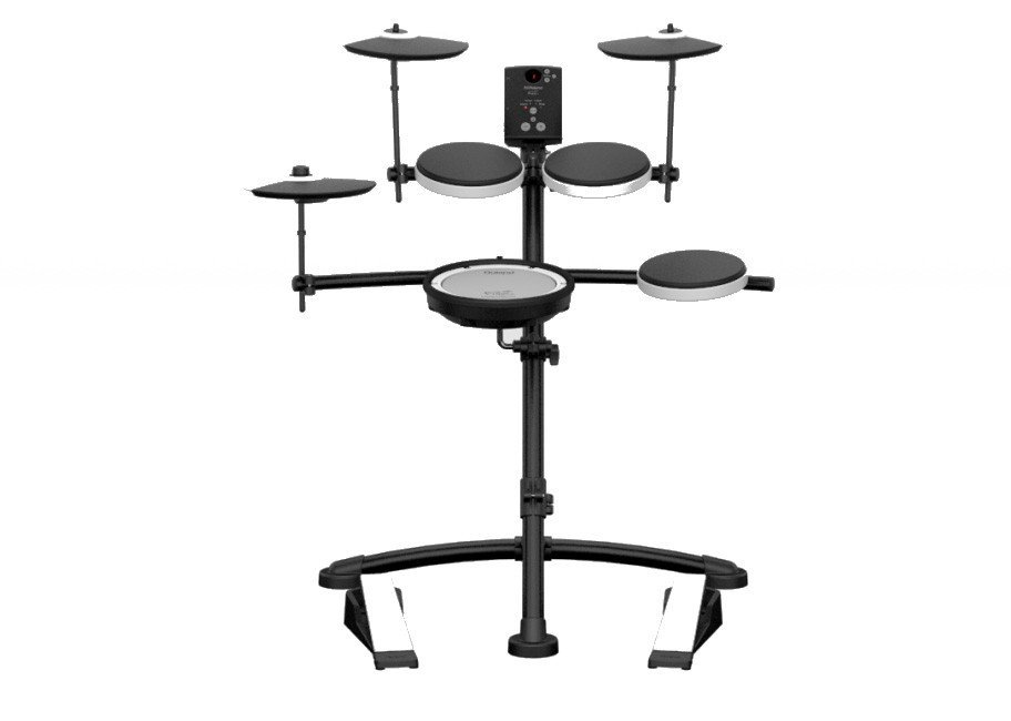 4-Piece V-Drum Electronic Drum Kit with Mesh Head Snare
