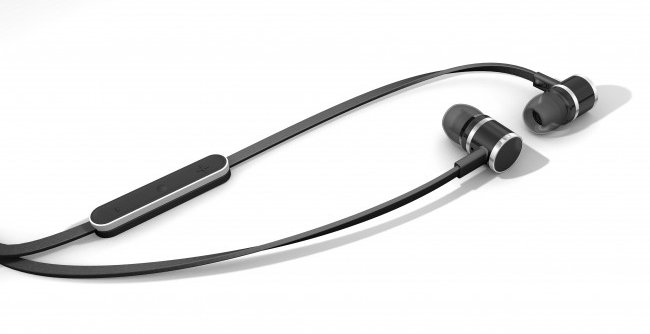In-Ear Headphones with Inline Remote for iOS Devices