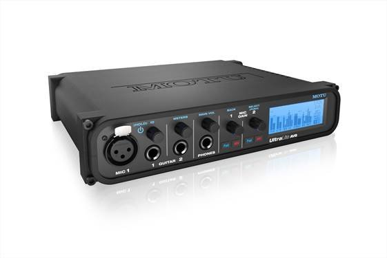 18x18 USB / AVB Audio Interface with DSP Mixing