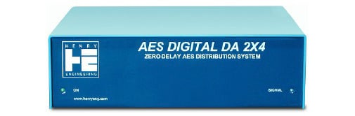 Zero Delay AES/SPDIF Distribution System