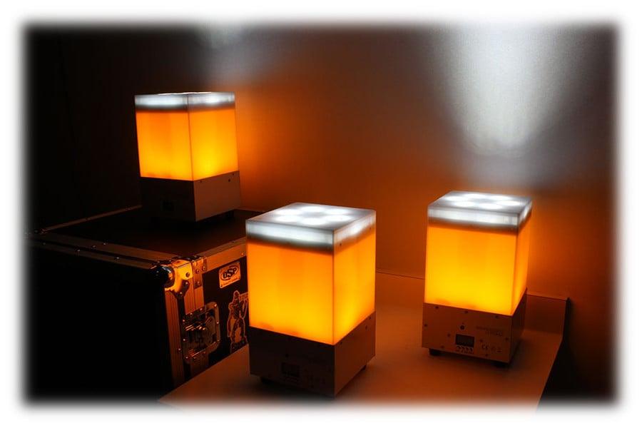 6-in-1 RGBAW+UV LED Wireless DMX