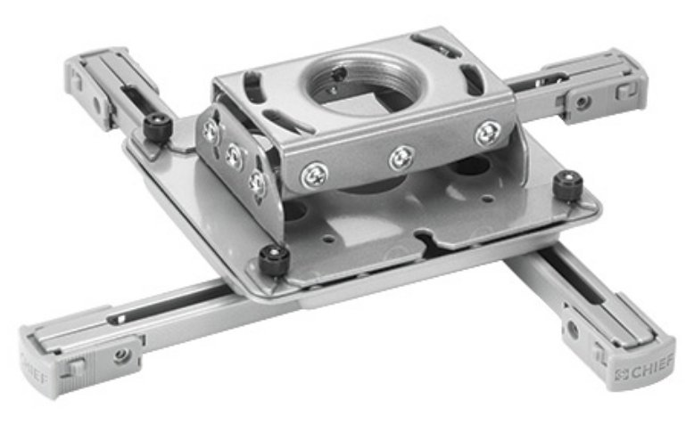 RPA Series Universal Projector Mount in Silver