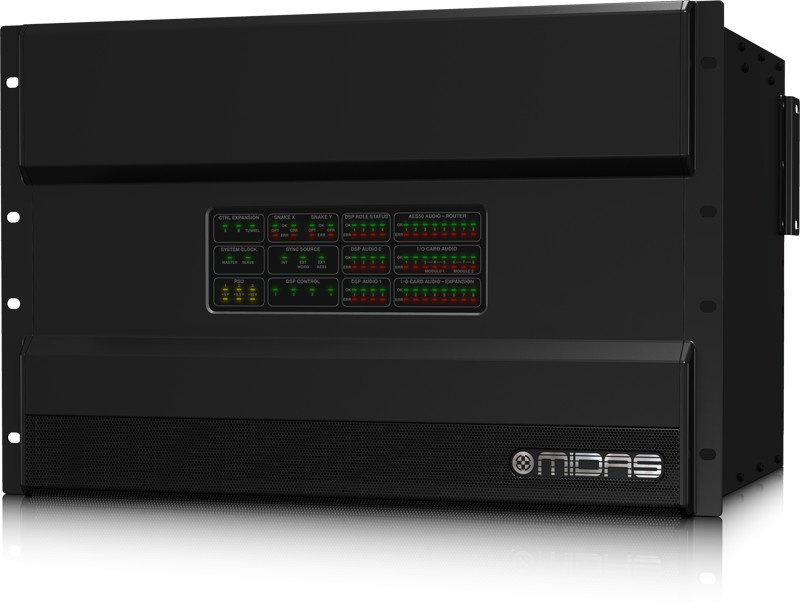 Midas NEUTRON High Performance Audio System Engine with 192 Bidirectional Channels NEUTRON