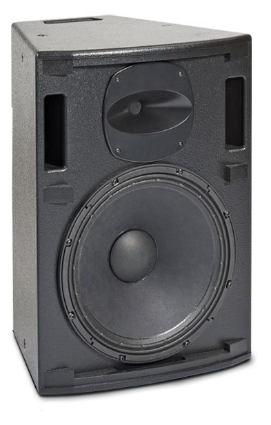"""Portable Speaker in White with 15""""LF Driver, 1""""HF Driver"""