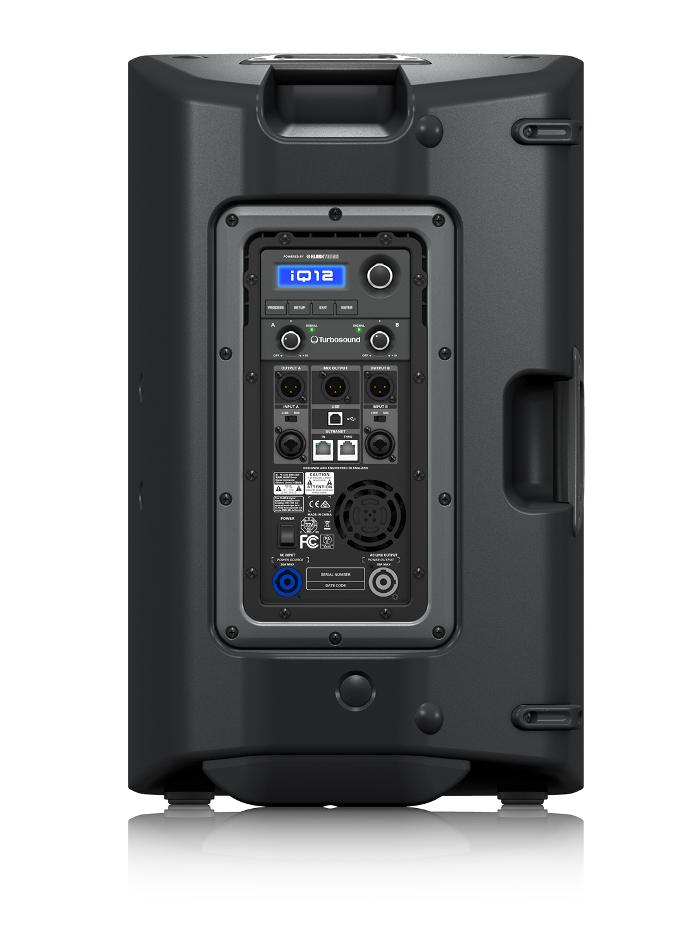 "Turbosound iQ12 12"" 2-Way 2500W Peak Powered Loudspeaker with ULTRANET Networking IQ12"