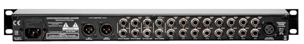 ART MX822 1RU 8 Channel Stereo Mic/Line Mixer with Effects Loop MX822