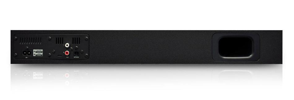 Wave Base Bluetooth Tabletop Soundbar with Remote Control