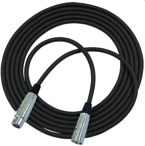 25 ft Microphone Cable with REAN Connectors