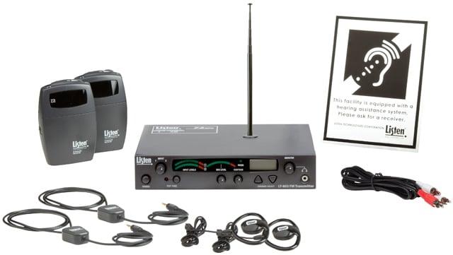 Listen Essentials Starter Stationary RF Assisted Listening System
