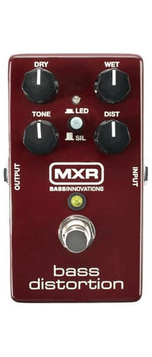 Bass Distortion Effects Pedal