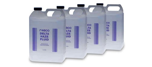 4-Count of Delta Hazer Fluid 4 Liter Bottles
