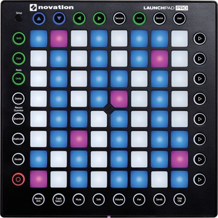 64-Pad USB MIDI Grid Controller