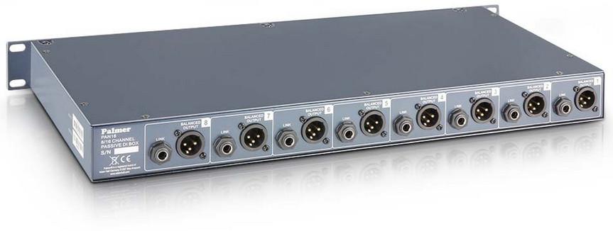 8 Channel Passive DI Box