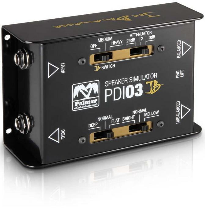 Palmer PDI03JB Joe Bonamassa Signature Guitar Speaker Emulator / DI PDI03JB