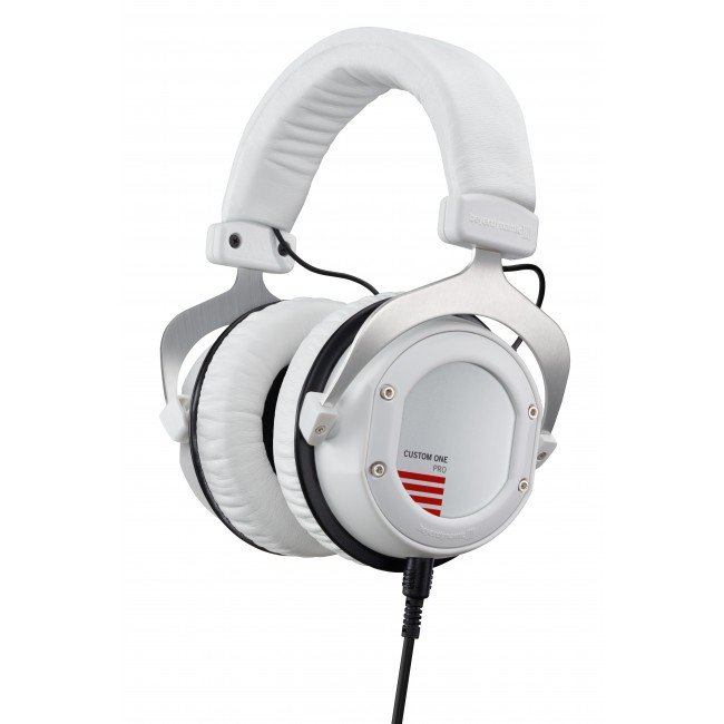 Stereo Headphones with Detachable Cable and Interchangeable Designs, in White