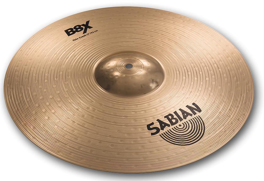 "17"" B8X Thin Crash Cymbal"