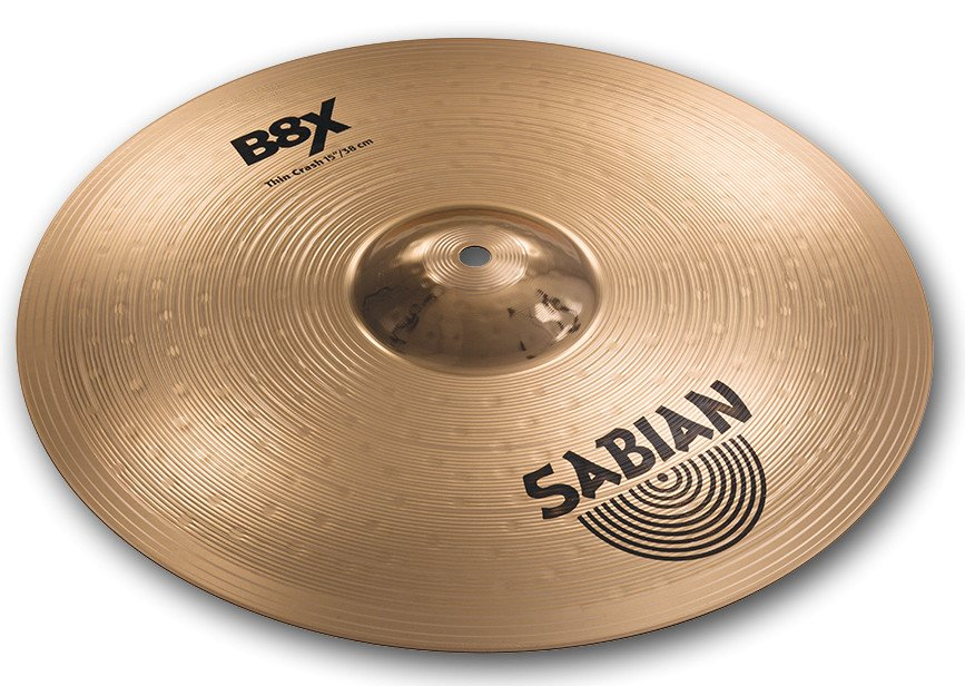 "15"" B8X Thin Crash Cymbal"