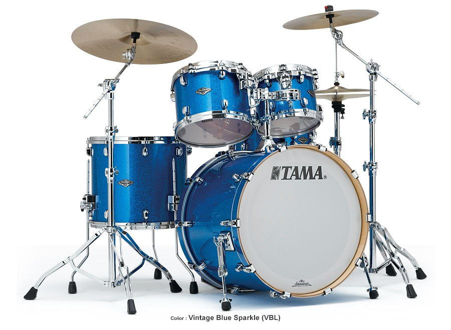 4 Piece Starclassic Performer B/B Shell Kit in Vintage Blue Sparkle Finish