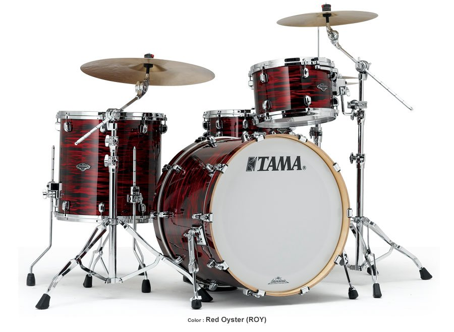 3 Piece Starclassic Performer B/B Shell Kit in Red Oyster Finish