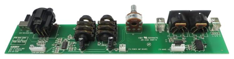 FX/MIDI PCB Assembly for Vetta Amp