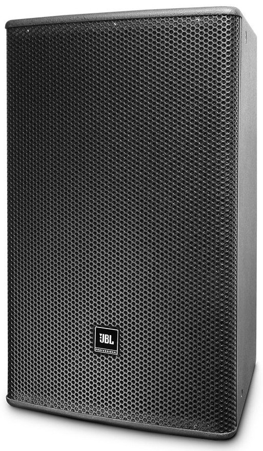 "15"" Two-Way Full-Range Loudspeaker in Black with 60x60 Coverage"