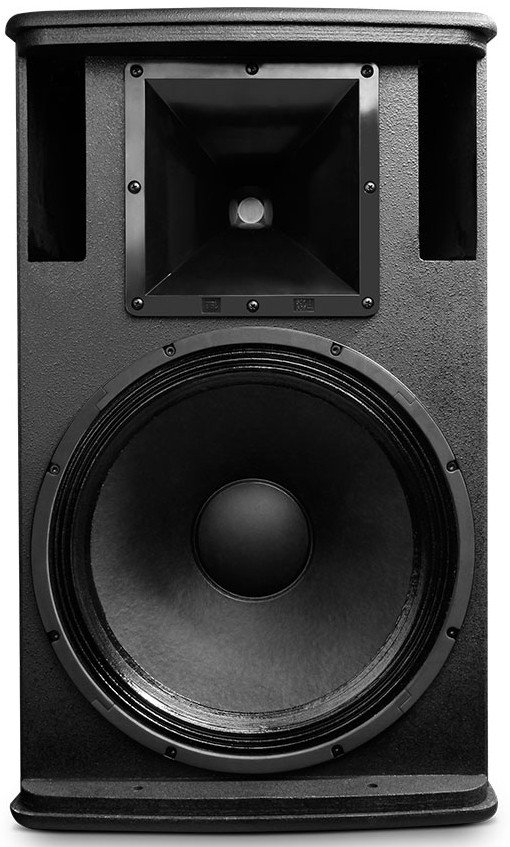"15"" Two-Way Full-Range Loudspeaker in Black with 90x90 Coverage"