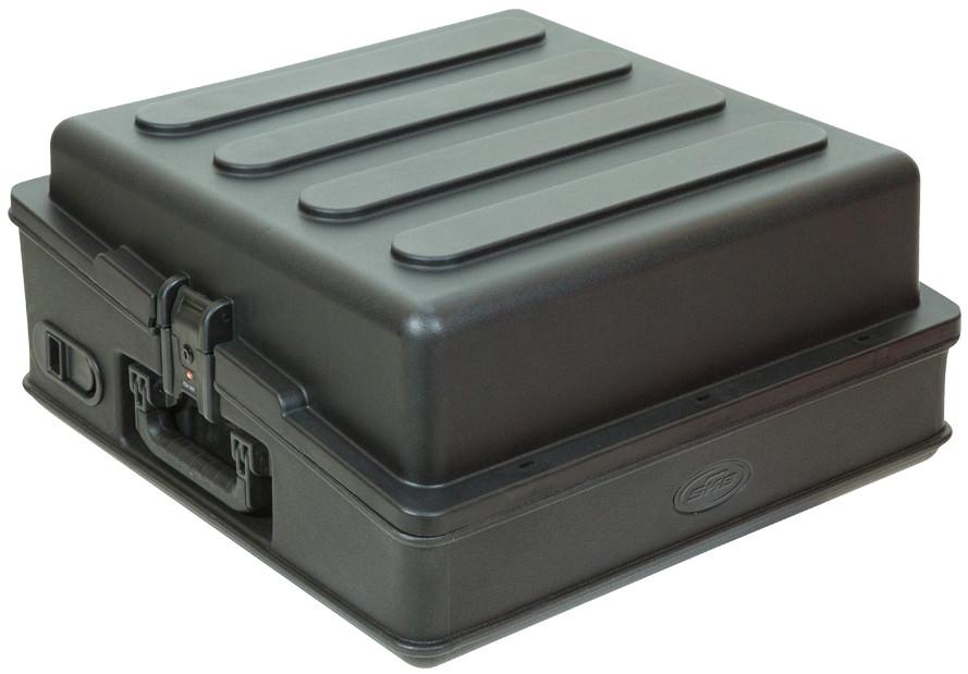 Roto-Molded 10RU Top Rack Mixer Case