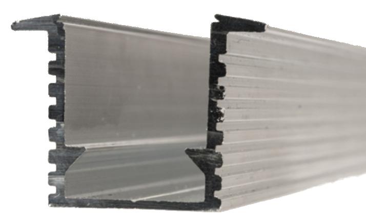 4' Recessed Aluminum Flex Channel