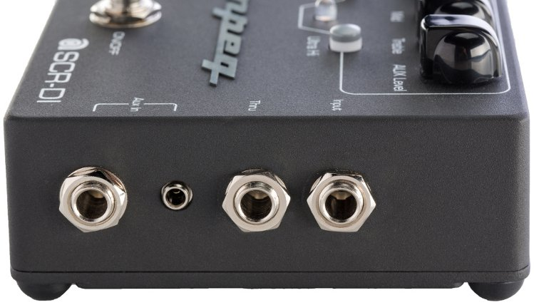 ampeg scr di bass guitar di pedal with scrambler overdrive. Black Bedroom Furniture Sets. Home Design Ideas