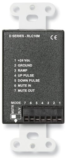 Remote Level Controller with Muting in Stainless Steel
