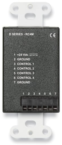 4 Channel Remote Control in Stainless Steel