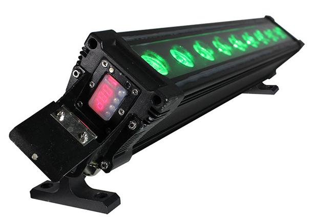 9x15W RGBAW+UV LED Wash Bar Fixture