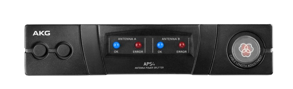 AKG APS4/US Wide-Band UHF Active Antenna and Power Splitter APS4/US