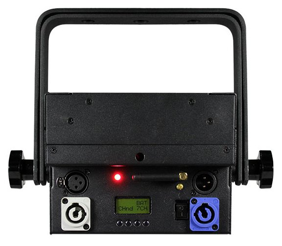 7x15W RGBAW 5-in-1 LED with Lithium-Ion Battery and Wireless DMX
