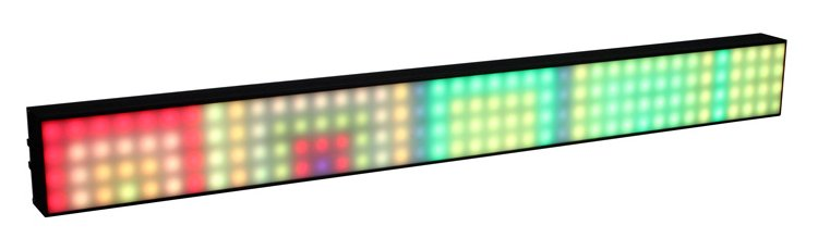 1M Pixel Mapping and Video 3-in-1 LED Bar Fixture