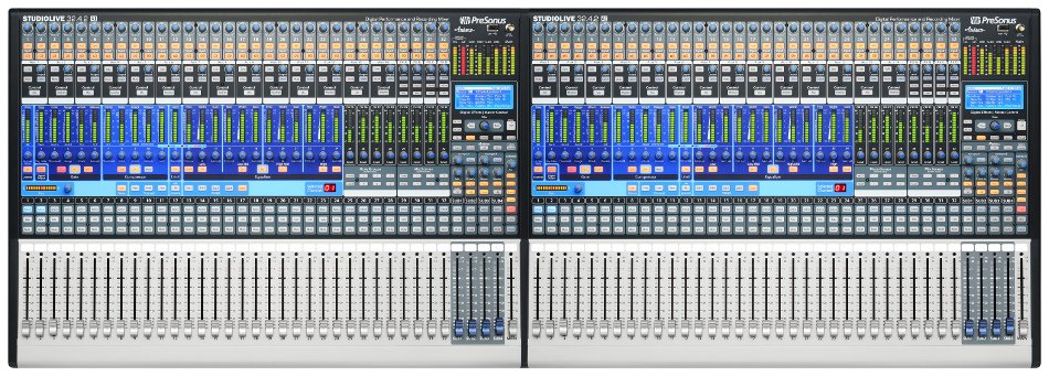 64-Channel Digital Mixing System with Active Integration