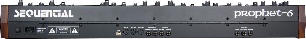 48-Key 6-Voice Polyphonic Analog Synthesizer